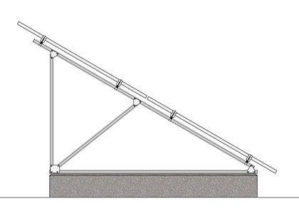 Zilla® Ground Mount Solar Racking Systems