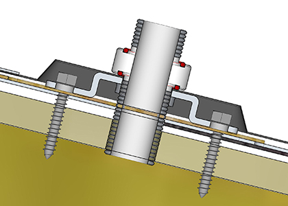 Electrical Flashing Solar Design Components