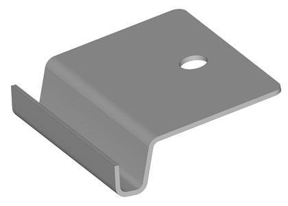 Degree Tilt Bootom Clip Rail To Panel Connector Solar