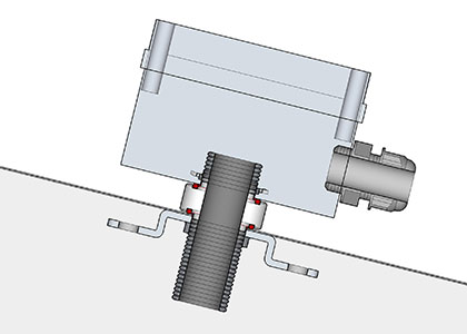 Pvc Electrical Flashing Solar Design Components